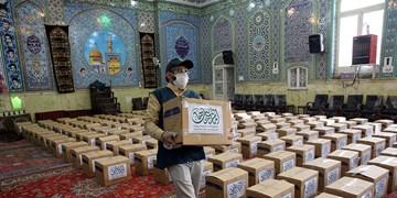 توزیع ۴۰۰ بسته بهداشتی بین خانوادههای سالمند در دماوند