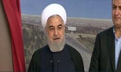 سخنان رئیس جمهور در آیین افتتاح آزادراه همت-کرج