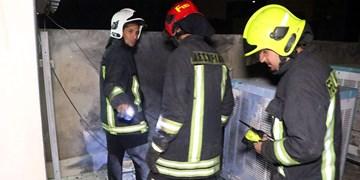 ۴۵ عملیات آتشنشانی کرمانشاه در شب چهارشنبهسوری/ سه مورد انفجار منزل داشتیم