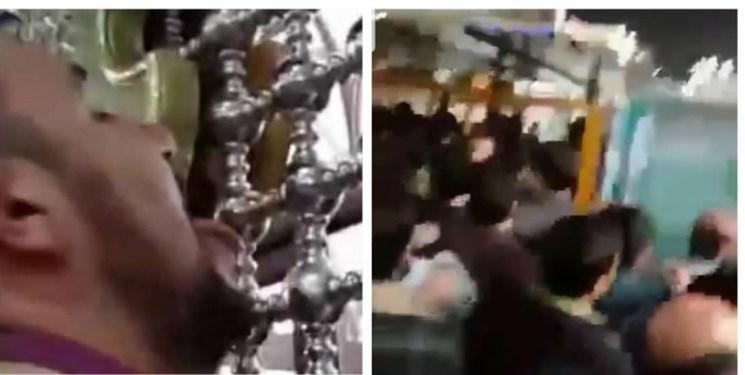 افشای هویت یکی از لیدرهای تجمع شب گذشته مشهد/ اعتراف عجیب لیسزننده پنجرههای حرم