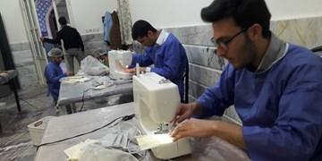 تولید ۲۵ هزار ماسک توسط دانشجویان بسیجی آذربایجانشرقی/ضدعفونی ۱۰۰ نقطه پرخطر تبریز توسط ۶۰۰ دانشجو