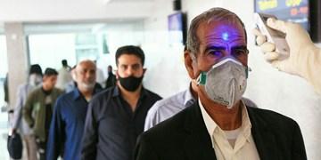 عکس  «غربالگری» در فرودگاه بندرعباس