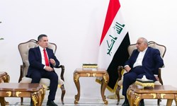 «عدنان الزرفی» به دیدار نخست وزیر مستعفی و رئیس پارلمان عراق رفت
