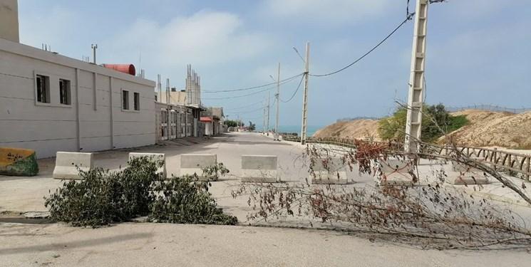 اقدام خودجوش مردم بوشهر برای سلامتی  محلات/بزرگترین پارک ساحلی مسدود شد+عکس