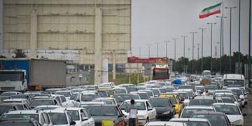 افزایش 3.3 درصدی ترافیک جاده ها/بیشترین تردد خودرو بین تهران و کرج ثبت شد