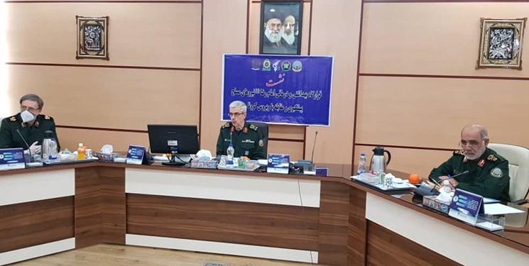 برگزاری نشست قرارگاه بهداشتی درمانی امام رضا(ع)/ تجهیز ۴ هزار تخت بیمارستانی توسط نیروهای مسلح