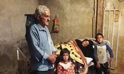 ساخت مسکن با حمایت کمیته امداد برای خانواده آبچنداری چاروسا