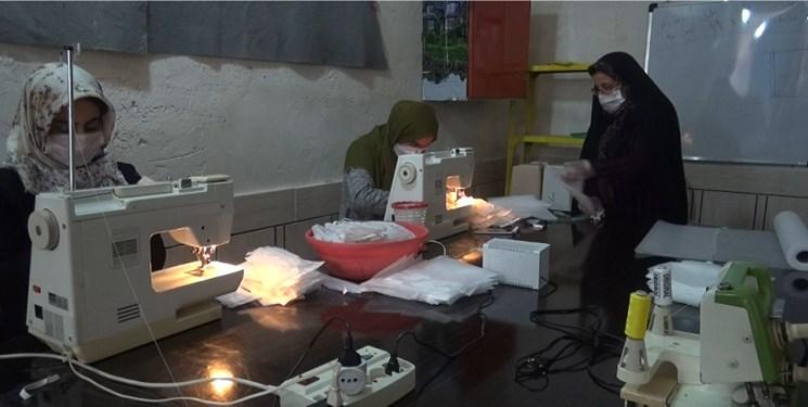 تولید بیش از 1000 عدد ماسک در دیشموک