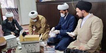 توزیع ۱۰ هزار پک بهداشتی توسط حوزه علمیه اردبیل
