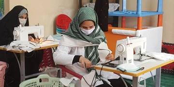 راهاندازی ۶  کارگاه تولید ماسک گروههای جهادی درشهرستانهای کردستان
