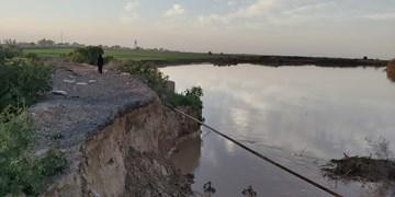 فارس من   فقط ۳ درصد از اعتبارات ترمیم جداره رودخانهها و سیلبندهای خوزستان ابلاغ شد