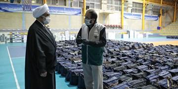 بازدید تولیت آستان قدس از روند تهیه بستههای کمک معیشتی و بهداشتی ویژه محرومان