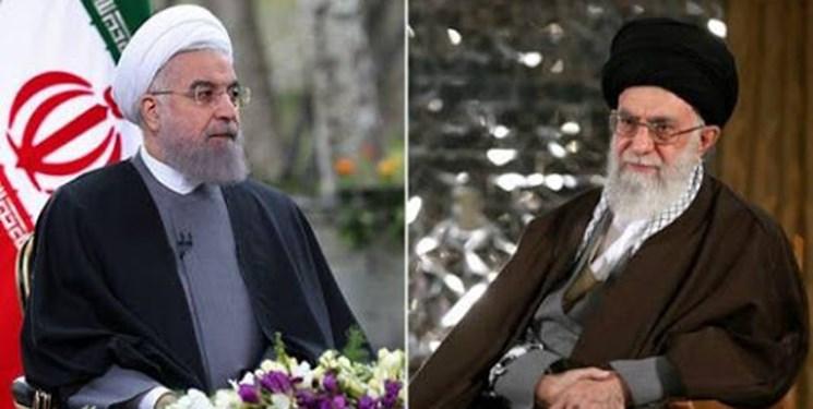 روحانی سال جدید را به رهبر معظم انقلاب اسلامى تبریک گفت