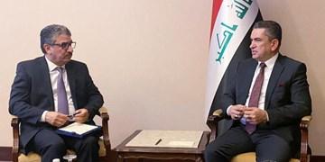 سفیر کویت در بغداد به دیدار «الزرفی» رفت