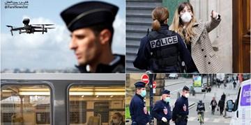 کرونا | هشدار فرانسه به شهروندانش؛ از خانه بیرون بیایید، بازداشت میشوید