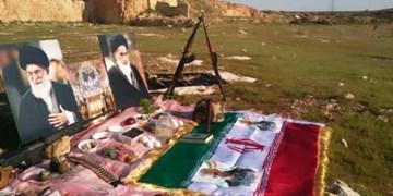 سفره هفت سین مدافعان حرم در «خان طومان»+عکس
