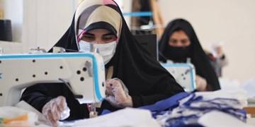 فیلم| وقتی معلمان هم برای تولید ماسک دست به کار می شوند