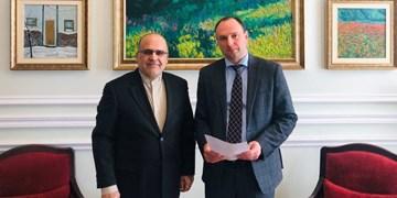 دیدار سفیر ایران با معاون وزیر خارجه اوکراین و گفتگو درباره کرونا و تحریمهای آمریکا