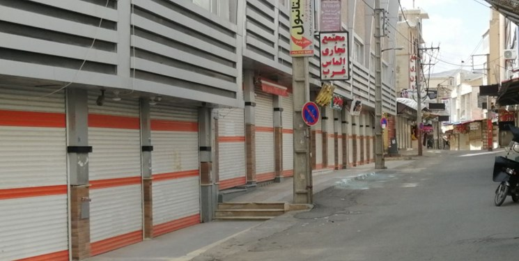 بازار شهر سقز  تا ۱۵ فروردین تعطیل خواهد بود