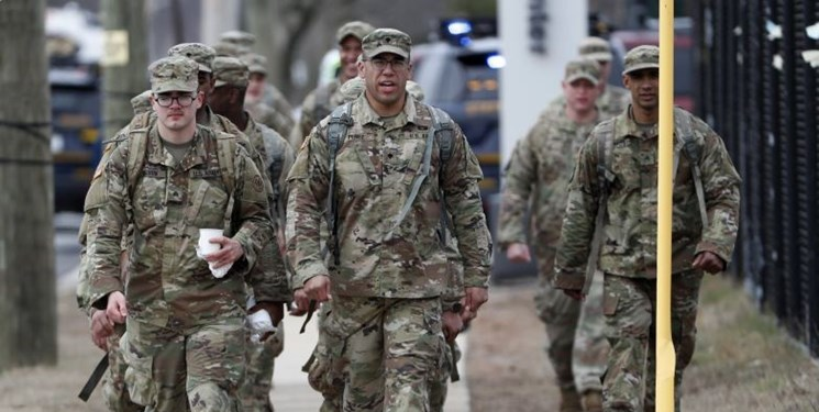آمادهباش ارتش آمریکا برای مقابله با «اغتشاشات مدنی» در بحبوحه شیوع کرونا