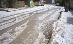 خسارت باران و تگرگ به شهرستان رازوجرگلان
