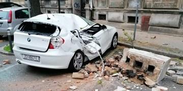 تصاویر| دو زمینلرزه قدرتمند پایتخت کرواسی را لرزاند