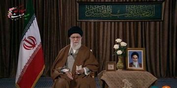 ترجمه آیه نمایش داده شده هنگام سخنان رهبر انقلاب