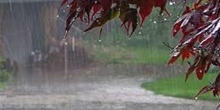 آسمان گلستان در «روز طبیعت« بارانی است