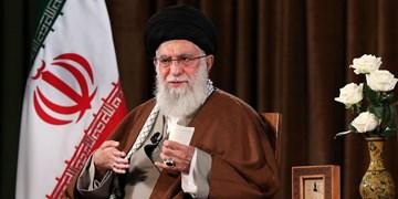 رهبر انقلاب: مقامات آمریکا شارلاتان و تروریست هستند/ اگر کوتهبینی نکنیم ایران به قلّه حکومت اسلامی میرسد