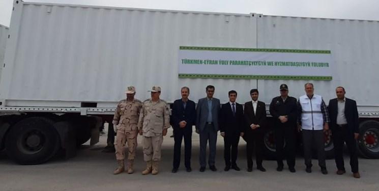 یک میلیون ماسک بهداشتی از ترکمنستان تحویل ایران شد