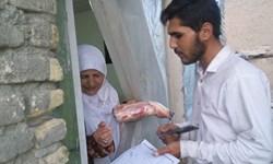 توزیع 200 بسته معیشتی در دو روستای لارستان