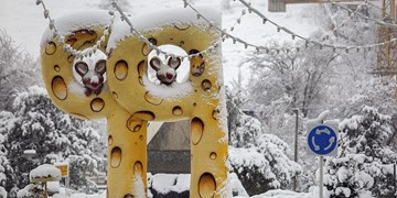 زمستان در بهار/ برخی ازشهرستانهای آذربایجانشرقی  دمای منفی 8 درجه را تجربه میکنند