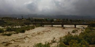 فیلم  آبگرفتگی منازل در شهر زهکلوت جنوب کرمان