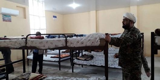 آمادهسازی نقاهتگاه بیماران کرونایی در پادگان  امام صادق(ع)سپاه فتح کهگیلویه و بویراحمد+تصاویر