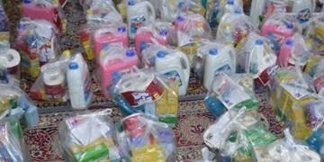 کمک مؤمنانه| توزیع 1600 بسته معیشتی و بهداشتی در سوادکوه