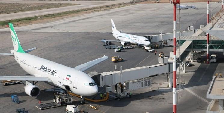 فرود اضطراری هواپیمایی ماهان در فرودگاه شیراز