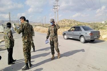 عکس/ تبسنجی و کنترل ورودیهای بوشهر از سمت استان فارس