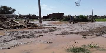 فیلم  خسارت سیل در جنوب کرمان