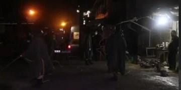 فیلم| نبرد مجاهدان دیار سلطان با کرونا