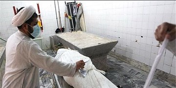 جانباختگان کرونا را چطور غسل میدهند؟