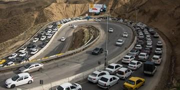 افزایش مجدد تردد در جادهها/بیشترین ترافیک جادهای در محورهای منتهی به تهران
