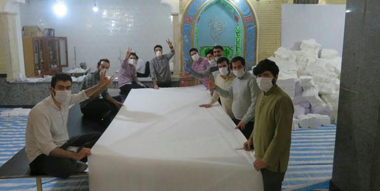 پاتک گروههای جهادی بسیج دانشجویی به کرونا/ «سین سلامت» هدیه بچههای مسجد تبریز به مردم