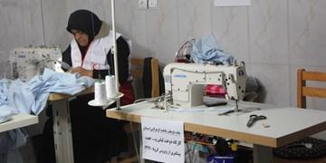 فیلم| کارگاه جهادی تولید ماسک در دامغان