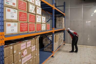 پرسنل صلیب سرخ چین برای انتقال تجربه و  حامل کمکهای بشر دوستانه کشور چین در  ایران