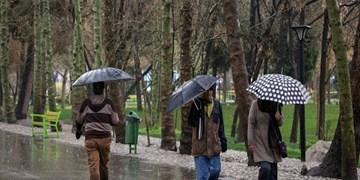باران و تگرگ در کشور تا پایان هفته/ آسمان پایتخت 19 فروردین ابری و بارانی است