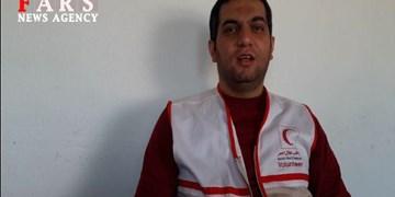 فیلم | توصیههای کرونایی امدادگران جمعیت هلالاحمر آستارا به مردم