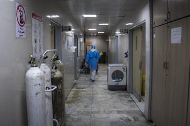 شروع شیفت صبح پرستاران بخش عفونی بیمارستان رازی