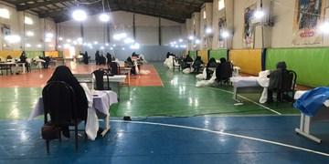 افتتاح کارگاههای تولید محلول ضدعفونی و البسه پزشکی در اهواز توسط سپاه