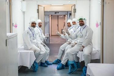 پرستاران و پزشکان بیمارستان صحرایی شهید صدوقی نیروی زمینی سپاه