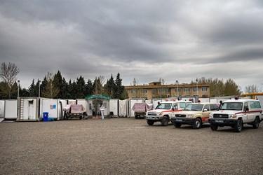 بیمارستان صحرایی شهید صدوقی در کمتر از یک روز قابل برپایی کامل میباشد